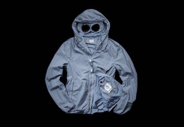 CP Company Google Jacket Mille Miglia - Stone Forest