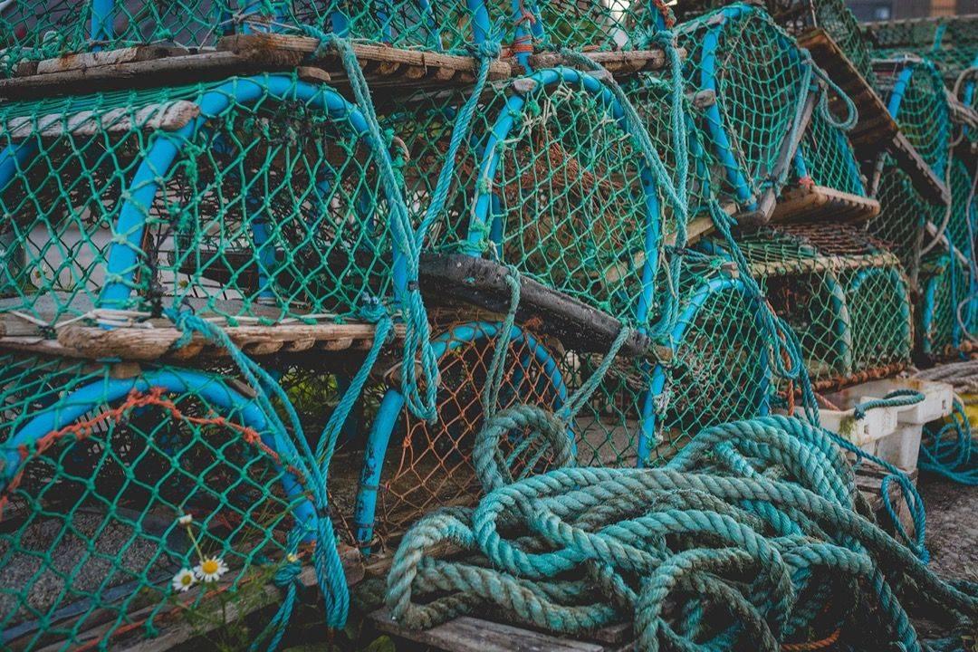 Коллаборация New Balance x Hanon 520 'Fisherman's Blues' - Stone Forest
