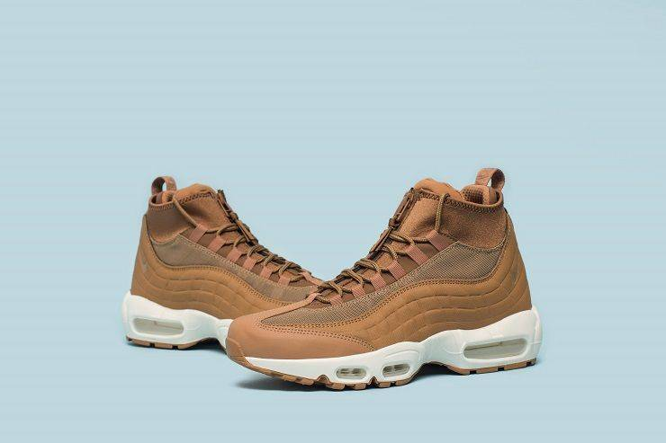 Релиз Nike Air Max 95 Sneakerboot Flax/Ale Brown/Sail - Stone Forest