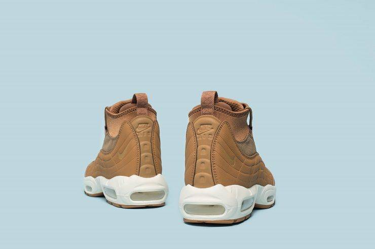Модель Nike Air Max 95 Sneakerboot Flax/Ale Brown/Sail - Stone Forest