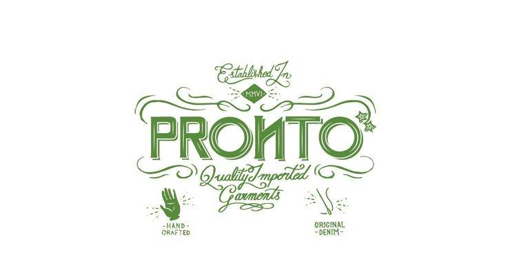Logo Pronto Denim - Stone Forest