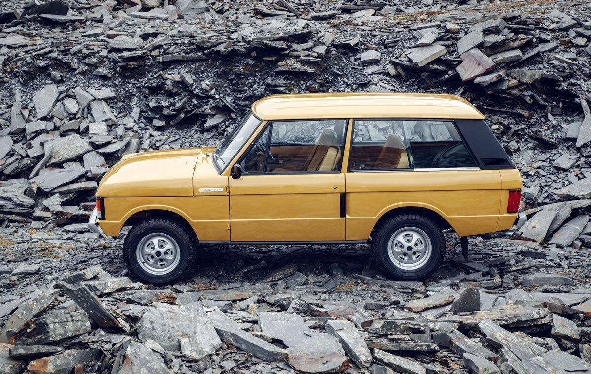 Range Rover Classic 1970 - Stone Forest