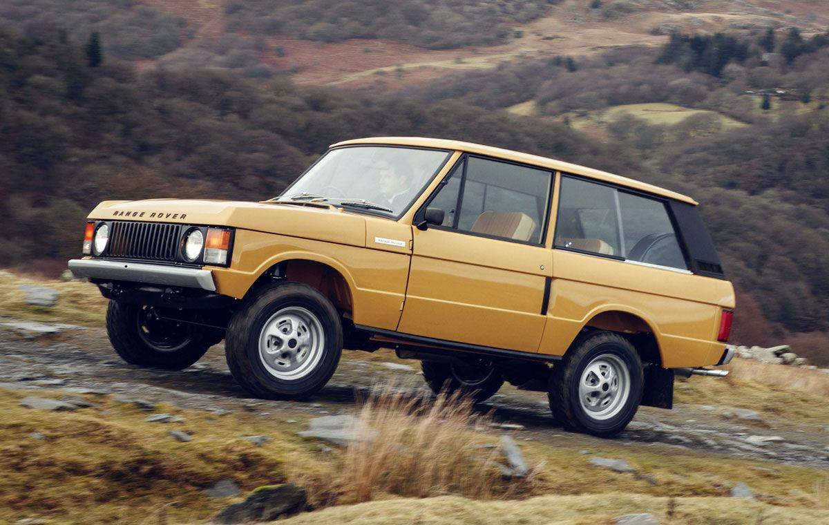 Модель Range Rover Classic 1978 - Stone Forest