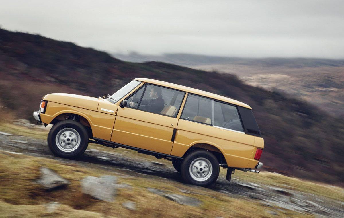 Модель Range Rover Classic 1970 - Stone Forest