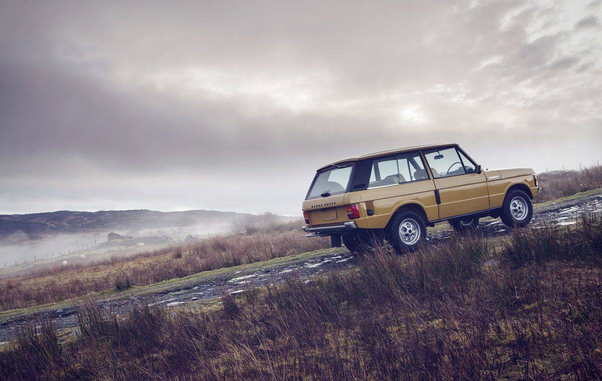 Range Rover Classic - Stone Forest