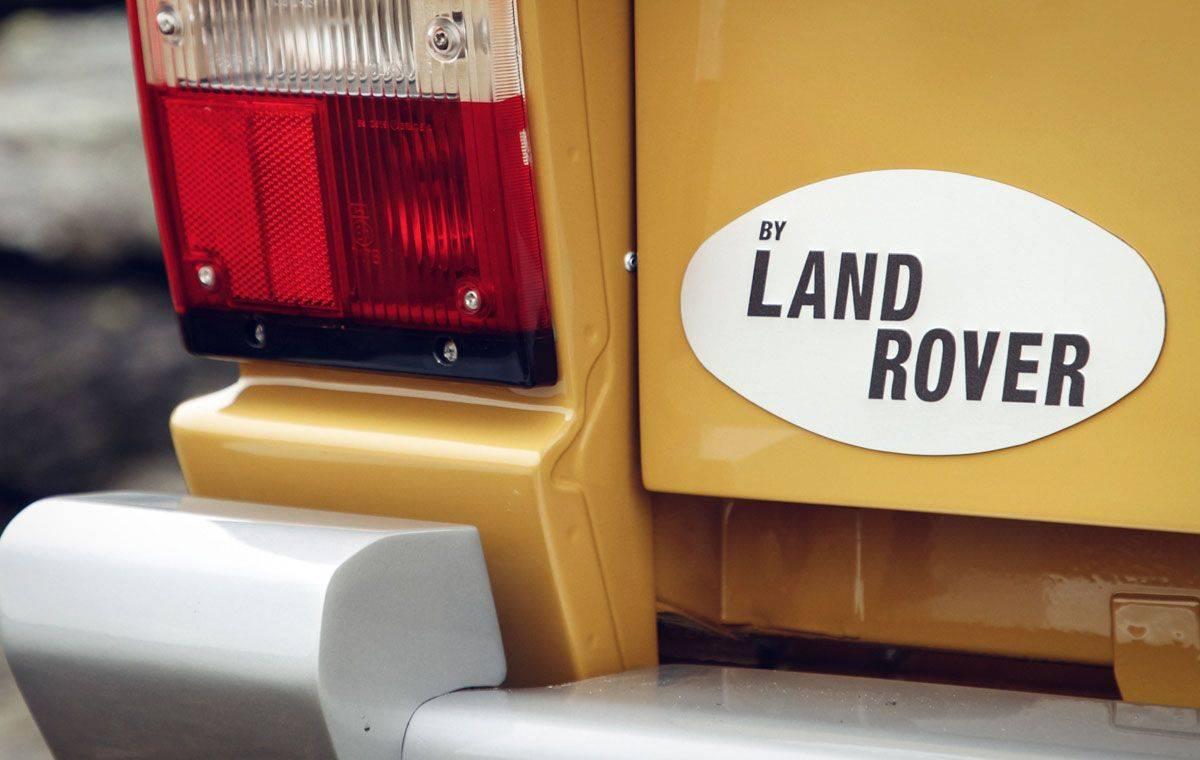 Классическая модель Range Rover Classic 1978 - Stone Forest