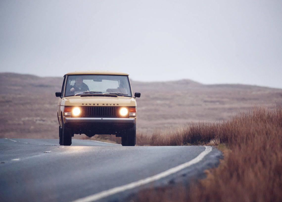 Релиз Range Rover Classic 1978 - Stone Forest