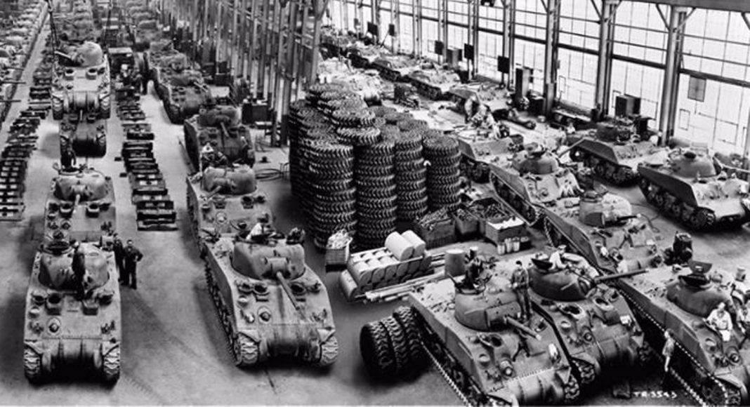 Танковые заводы времен Второй мировой войны - Stone Forest