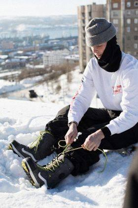 Ботинки для сноубординга Vans x Howl - Stone Forest