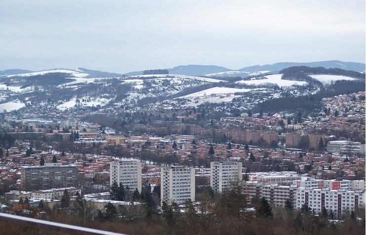 Город Злин Чехия - Stone Forest