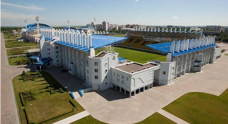 Стадион футбольного клуба Шериф Тирасполь - Stone Forest