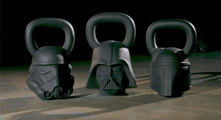 Onnit x Star Wars гири - Stone Forest