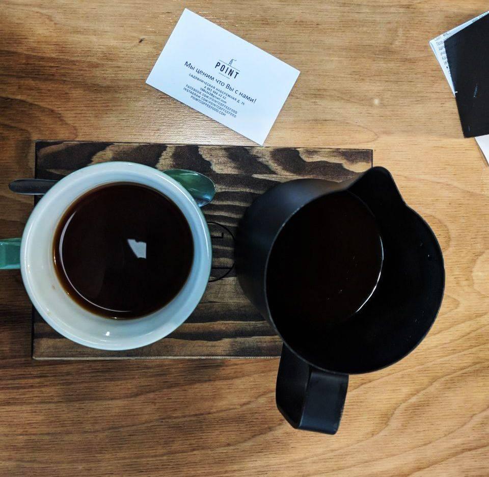 Кофейня Point coffee food на Павелецкой, Садовническая набережная 75