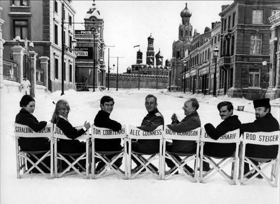 Съемки фильма Доктор Живаго 1965 - Stone Forest