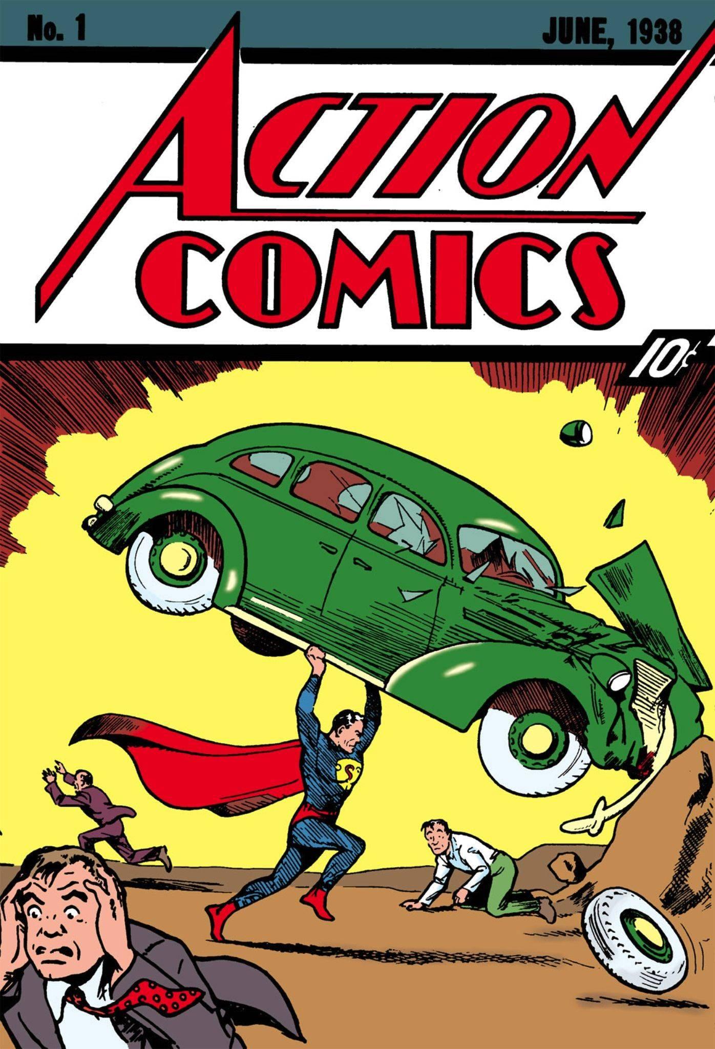 Комиксы про Супермена - Stone Forest