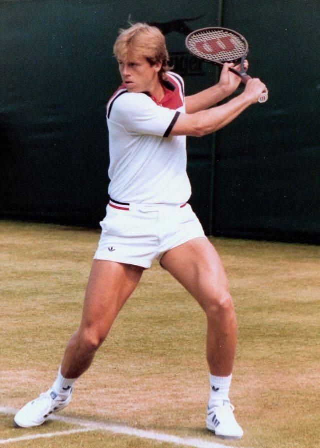 Теннисист Стефан Эдберг - Stone Forest
