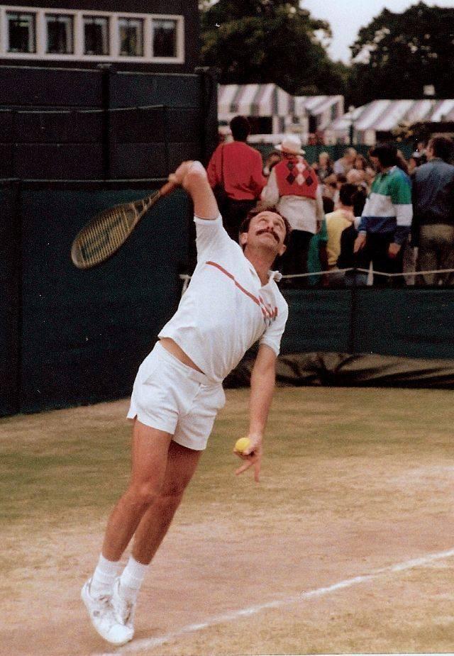 Теннисист Джон Ньюкомб - Stone Forest