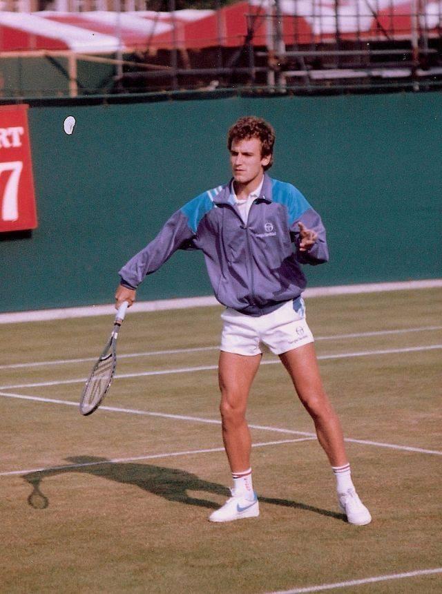 Теннисист Матс Виландер - Stone Forest
