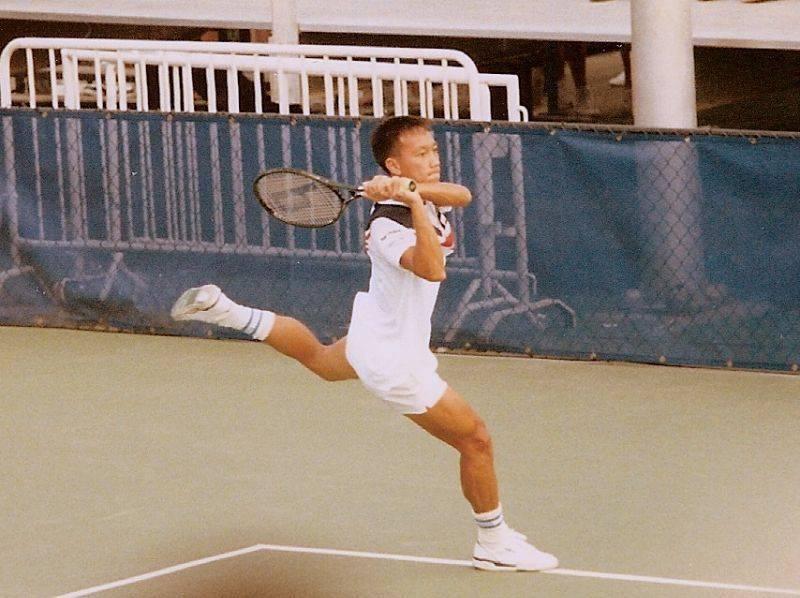 Теннисист Майкл Чанг - Stone Forest