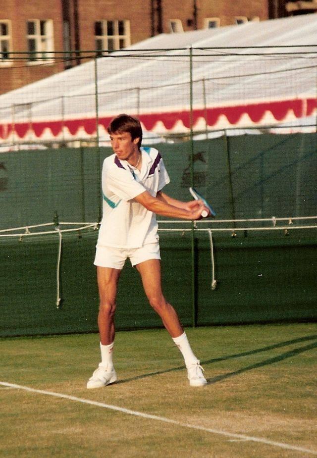 Теннисист Михаэль Штих - Stone Forest