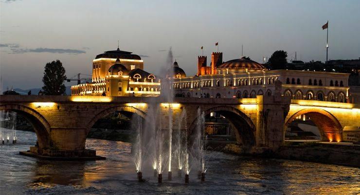 Город Скопье в Македонии - Stone Forest