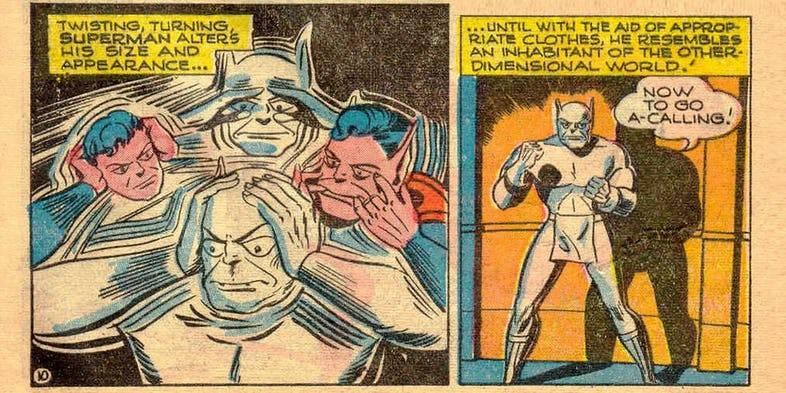 Изменение облика супермена - Stone Forest