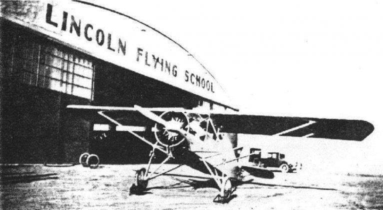 Чарльз Линдберг в Nebraska Aircraft Corporation - Stone Forest