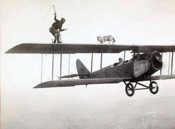Чарльз Линдберг в воздушном цирке - Stone Forest