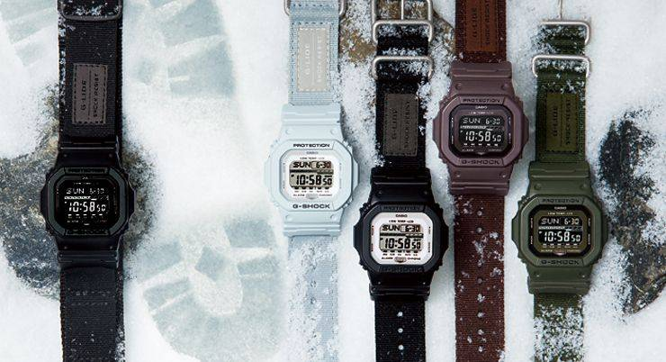 Casio g-shock gls-5600 - Stone Forest