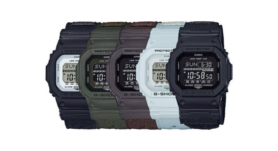 Коллекция Casio g-shock gls-5600 - Stone Forest