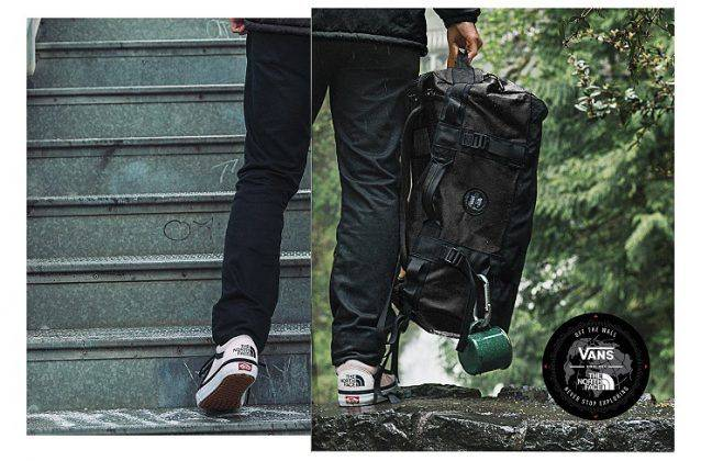 Куртки Vans x The North Face - Stone Forest