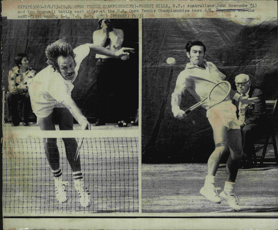Теннис Джон Ньюкомб - Stone Forest