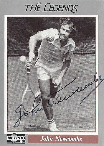 Легенда тенниса Джон Ньюкомб - Stone Forest