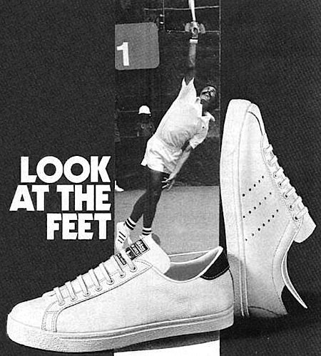 Джон Ньюкомб и adidas John Newcombe - Stone Forest