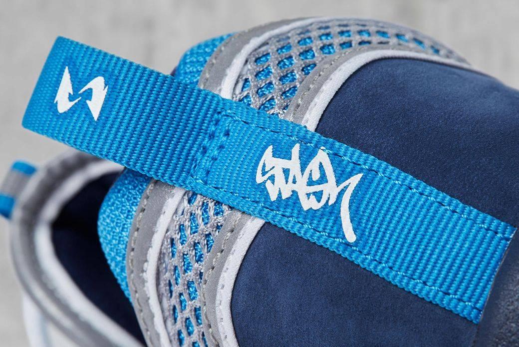 Кроссовки Nike x STASH Air Zoom Spiridon '16 - Stone Forest