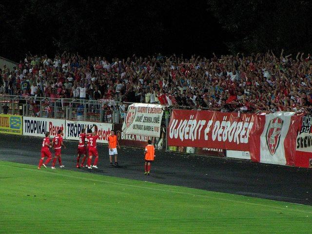 Фанаты Скендербеу Корч - Stone Forest