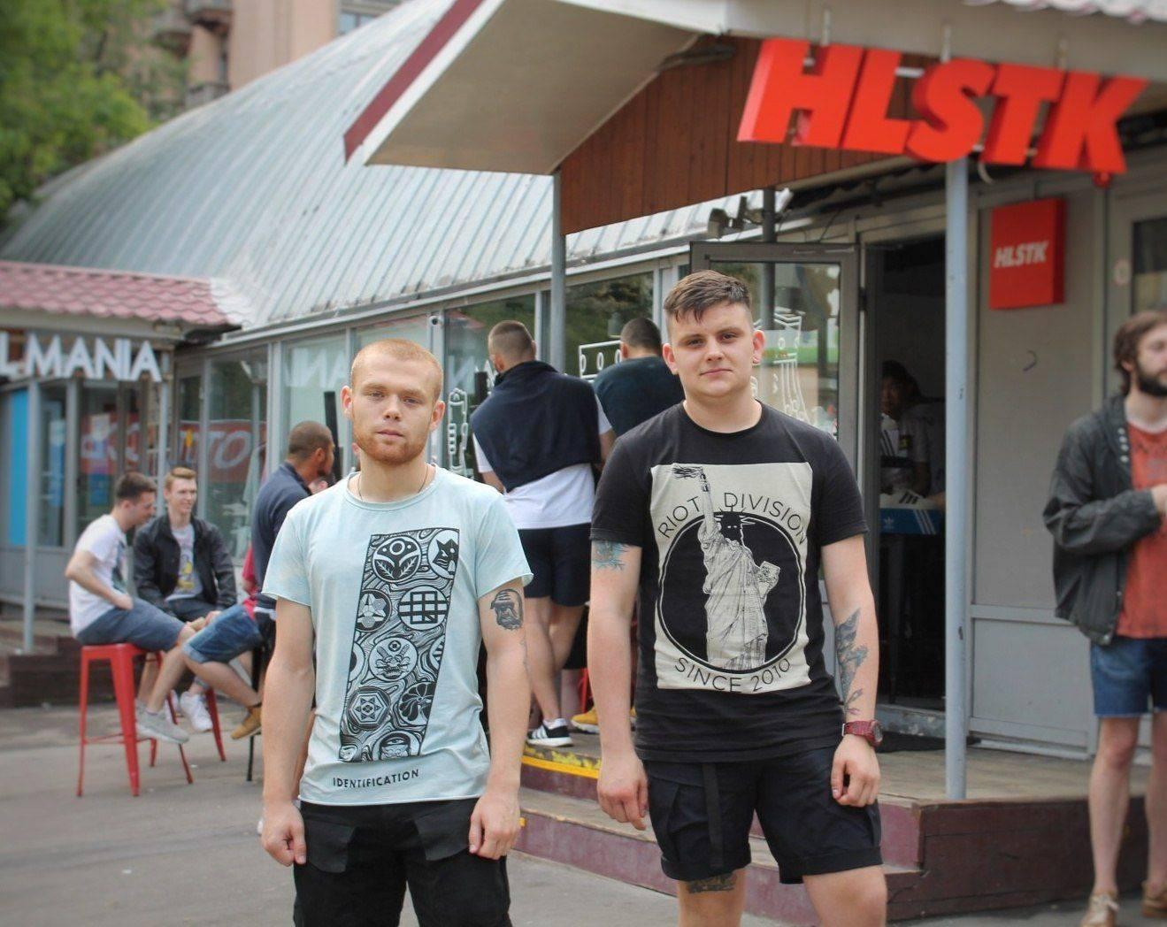 Коллаборация Street Partizan и Razzle Dazzle - Stone Forest