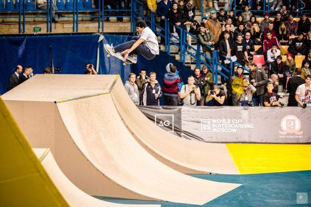 World Cup Skateboarding Moscow 2017 - Stone Forest