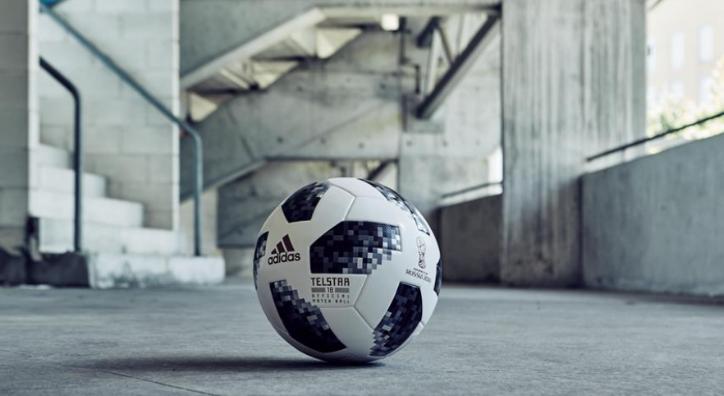 Официальный мяч ЧМ 2018 adidas Telstar 18 - Stone Forest