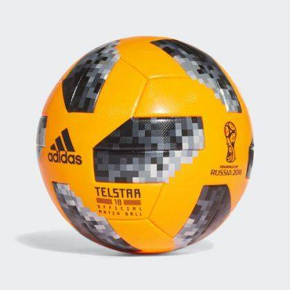 Официальный зимний мяч adidas Telstar 18 - Stone Forest