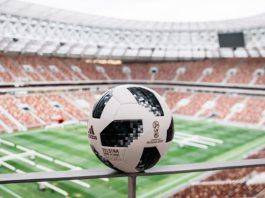 Официальный мяч ЧМ 2018 – adidas Telstar 18 - Stone Forest