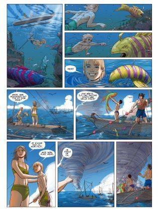 Комиксы Александра Ерёмина - Stone Forest