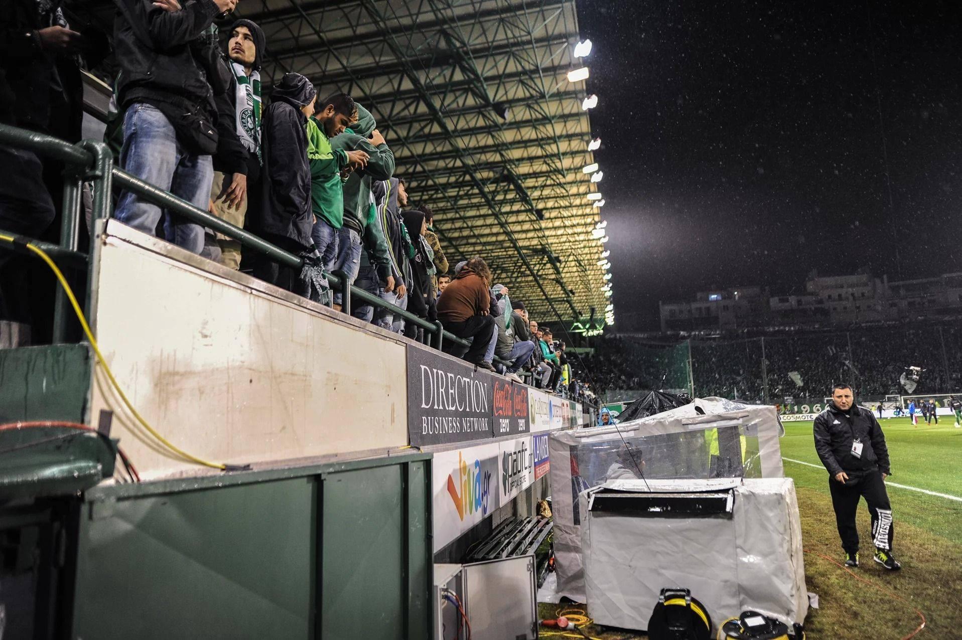 Футбольный матч Панатинаикоса - Stone Forest