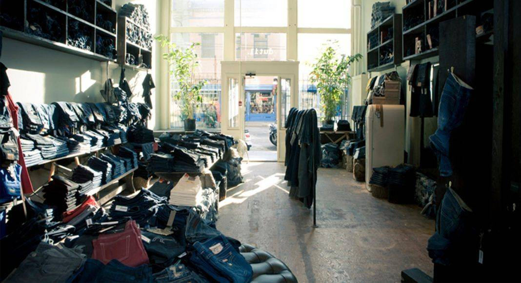 dutil denim store - Stone Fore