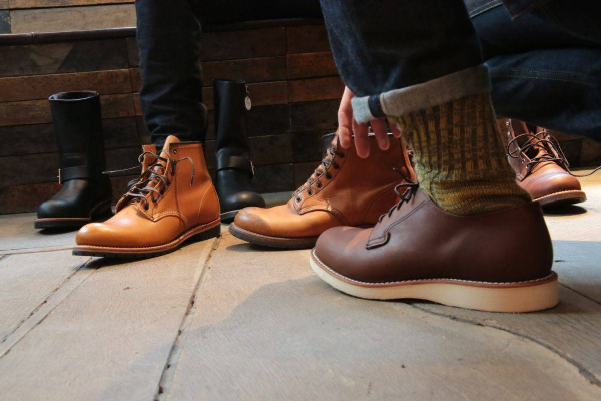 dutil Red Wing Shoes - Stone Fore