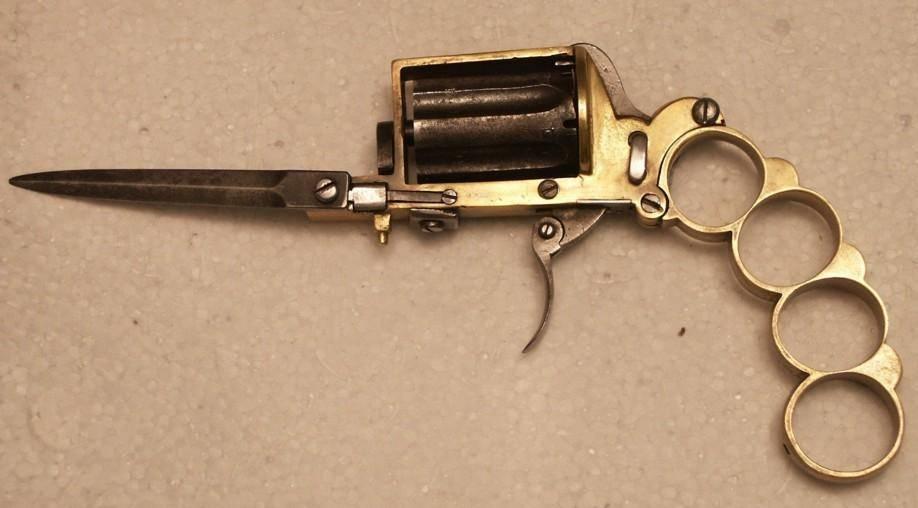 Кастет-револьвер Апаш - Stone Forest