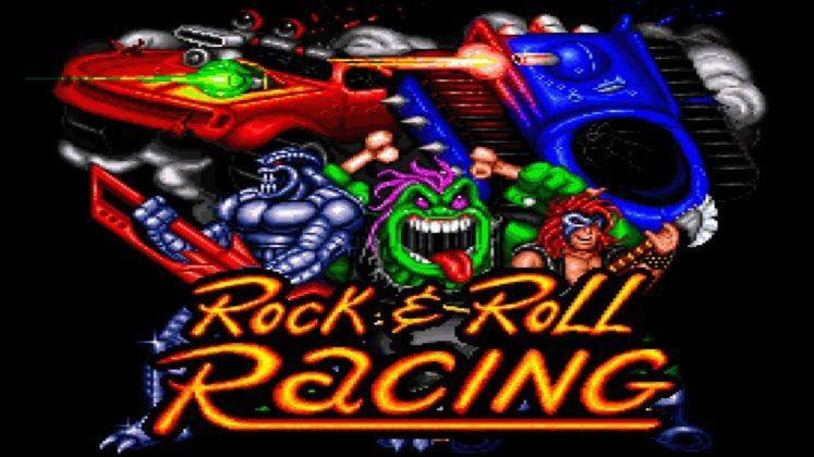 Rock'n'Roll Racing - Stone Forest