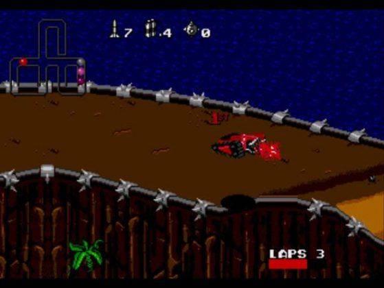 Компьютерная игра Rock'n'Roll Racing - Stone Forest