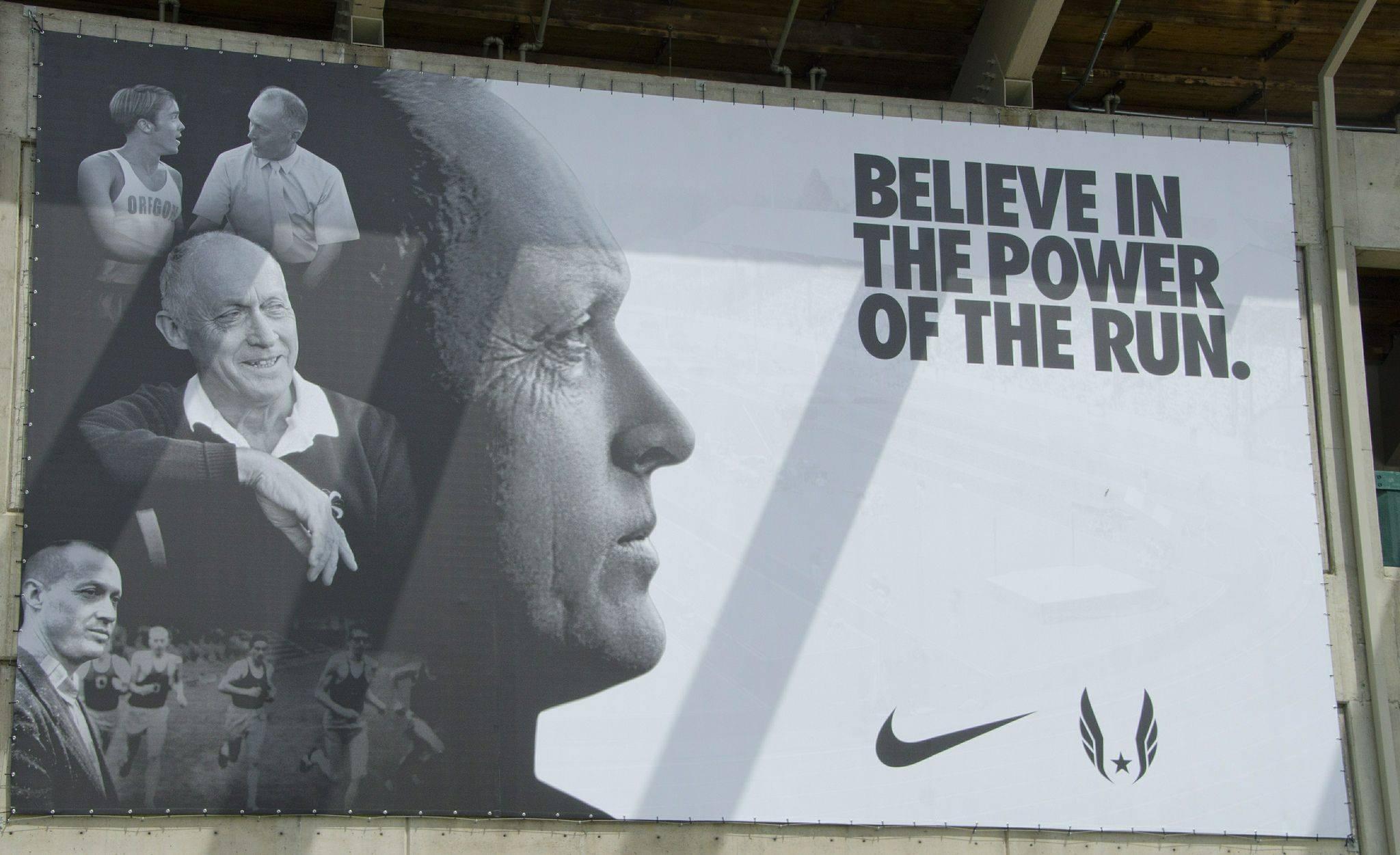 Рекламный постер Nike - Stone Forest