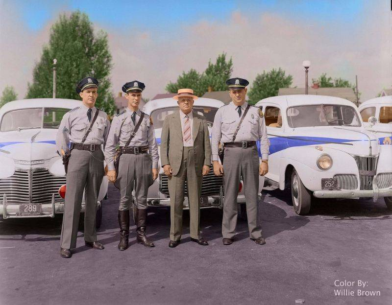 Полиция Кентукки 1942 год - Stone Forest